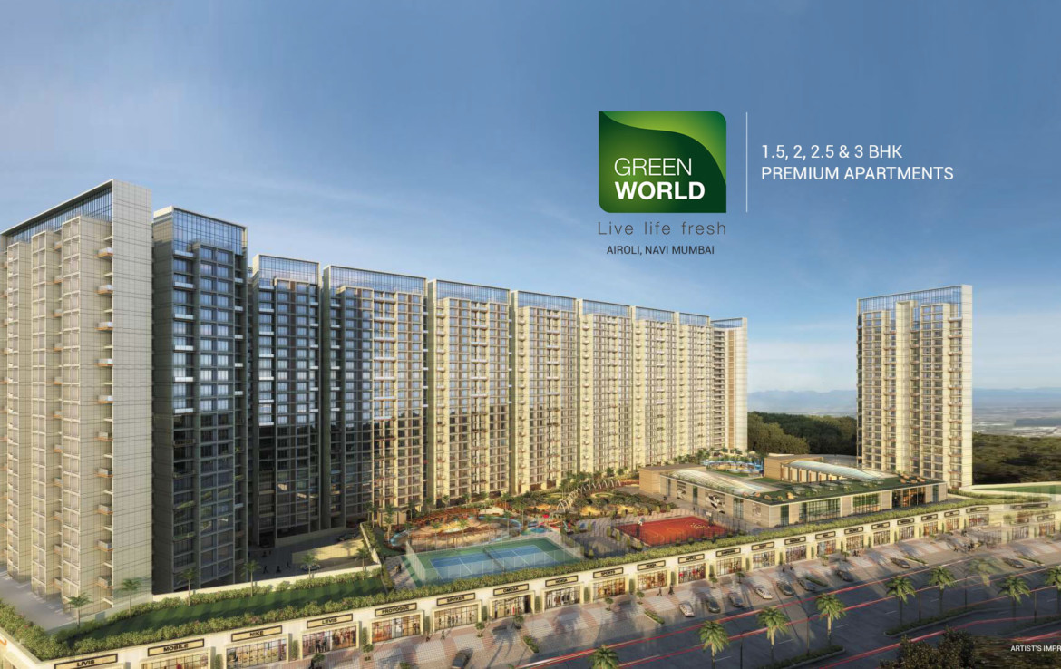 Akshara Green World in Airoli _ www.dluxuryhomes.com