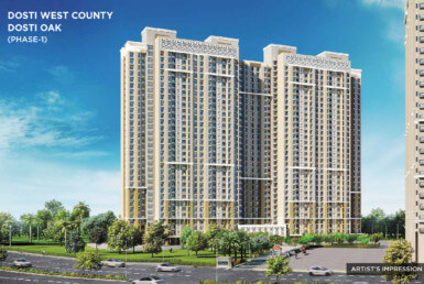Dosti West Country in Thane _ www.dluxuryhomes.com