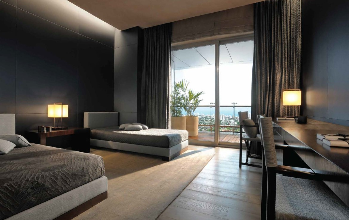 World Tower in Lower Parel Bedroom