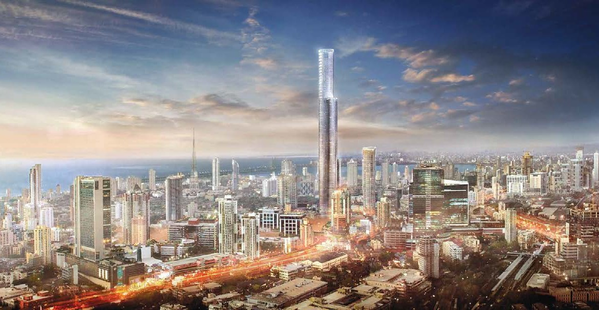 World Tower in Lower Parel City View