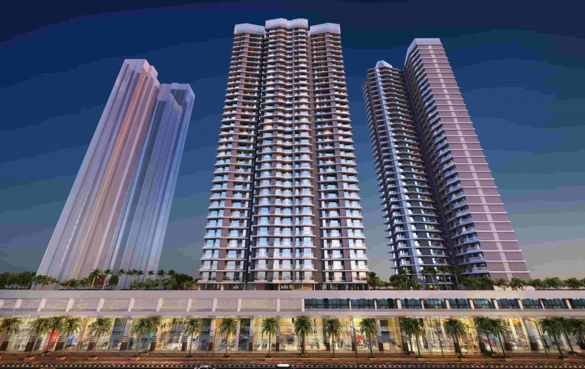 Rosa Manhattan apartment in Thane